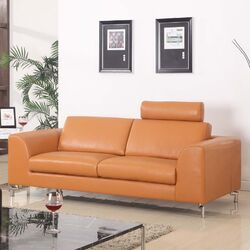Angela Leather Sofa