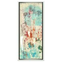 Modern Living Layers of Paint I Framed Wall Art