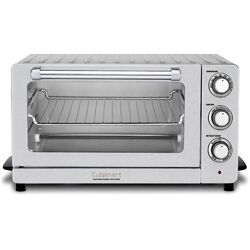 0.6-Cubic Foot Convection Toaster Oven Broiler
