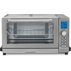Deluxe 0.6-Cubic Foot Convection Toaster Oven Broiler