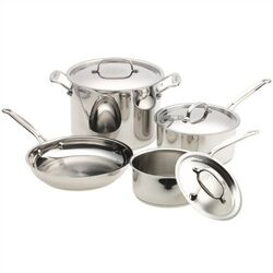 Chef's Classic� Stainless 7-Piece Cookware Set
