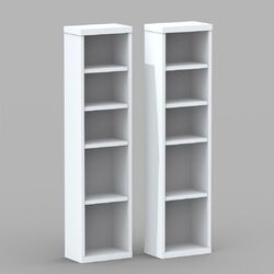 CD/DVD Multimedia Storage Rack