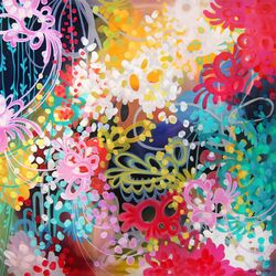 Joey by Stephanie Corfee Painting Print on Canvas