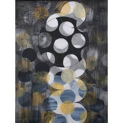 Whirlygig by Marie Kazalia Painting Print on Canvas