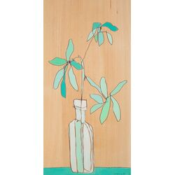 Foliage Trois by Jennifer Mercede Painting Print on Canvas