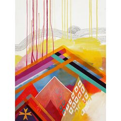 Wind Storm by Misha Maynerick Blaise Painting Print on Canvas