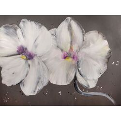 Orchid Beauty by Deborah Brenner Painting Print on Canvas