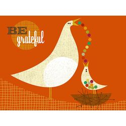 Be Grateful by Brian Love Painting Print on Canvas
