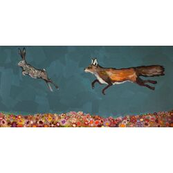 The Chase by Eli Halpin Painting Print on Canvas
