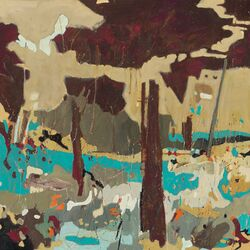 Dry Winter by Todd Clark Painting Print on Canvas