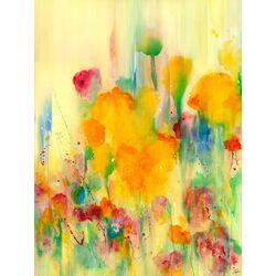 Sienna Rose by Deborah Brenner Painting Print on Canvas