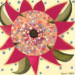 Day Flower by Caroline Blum Painting Print on Canvas
