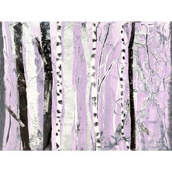 Lavender Forest by Donna Ingemanson Painting Print on Canvas