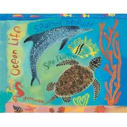 Tropical Sea Creatures by Donna Ingemanson Painting Print on Canvas