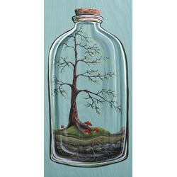 Forest Preserve by Karin Grow Painting Print on Canvas