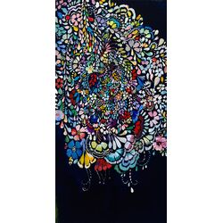 Floral Filigree by Starla Michelle Painting Print on Canvas