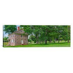 Panoramic Buildings in a Farm Valley Philadelphia, Pennsylvania Photographic Print on Canvas