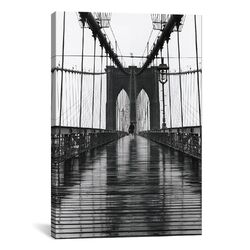 'Brooklyn Bridge' by Christopher Bliss Photographic Print on Canvas