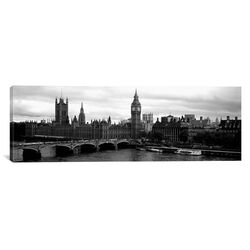 Panoramic Westminster Bridge, Houses of Parliament, City of Westminster, London, England ...