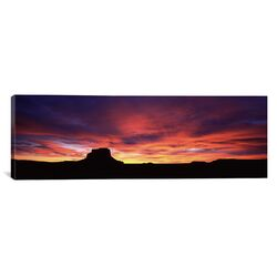 Panoramic Buttes at Sunset, Chaco Culture National Historic Park, New Mexico, Photographic ...