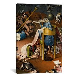 'Bird Man from the Garden of Earthly Delights 1500' by Hieronymus Bosch Painting Print on ...