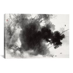 Birds at Roost by Takeuchi Seiho Painting Print on Canvas