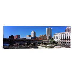 Panoramic Bridge Across the Genesee River, Rochester, Monroe County, New York State 2011 ...