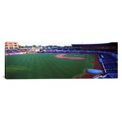 Panoramic Durham Bulls Athletic Park, Durham, North Carolina Photographic Print on Canvas
