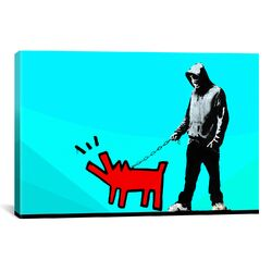 Choose Your Weapon Keith Haring lV Graphic Art on Canvas