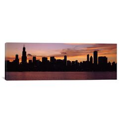 Panoramic Buildings at the Waterfront, Lake Michigan, Chicago, Illinois, 2011 Photographic ...
