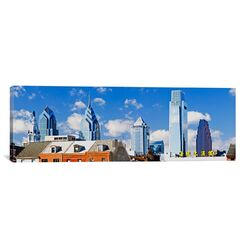 Panoramic Buildings in a City, Chinatown Area, Comcast Center, Center City, Philadelphia, ...