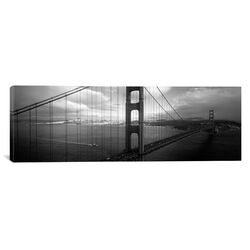 Panoramic Bridge across the Sea, Golden Gate Bridge, San Francisco, California Photographic ...