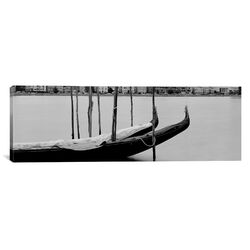 Panoramic Gondola in a Lake Oakland, California Photographic Print on Canvas