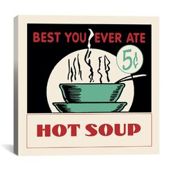 Hot Soup Advertising Vintage Poster