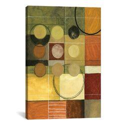 Decorative Art 'Color Colage II' by Pablo Esteban Painting Print on Canvas
