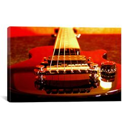 Electric Guitar Photographic Print on Canvas