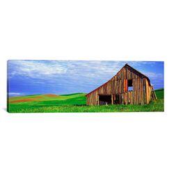 Panoramic 'Dilapidated Barn in A Farm, Palouse, Whitman County, Washington State' Photographic ...