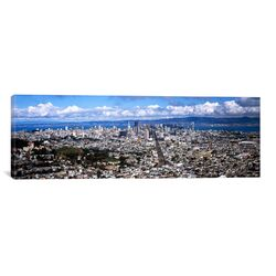 Panoramic Cityscape Viewed from the Twin Peaks, San Francisco, California Photographic Print on ...
