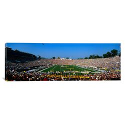 Panoramic The Rose Bowl, Pasadena, California Photographic Print on Canvas