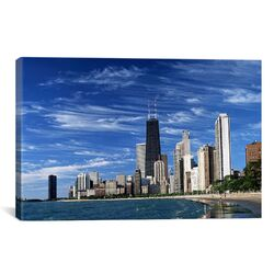 Downtown Chicago Photographic Print on Canvas