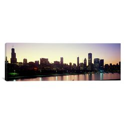 Panoramic City Skyline with Lake Michigan and Lake Shore Drive, Chicago, Illinois Photographic ...