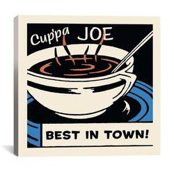 Cup'Pa Joe Best in Town Advertising Vintage Poster