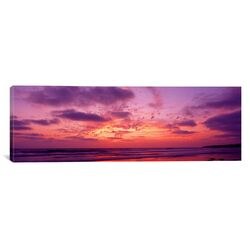 Panoramic Clouds in the Sky at Sunset, Pacific Beach, San Diego, California Photographic Print ...