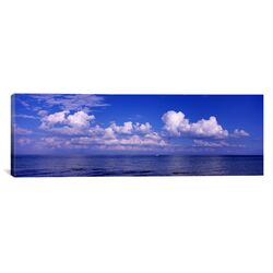 Panoramic Clouds over the Sea, Tampa Bay, Gulf of Mexico, Anna Maria Island, Manatee County, ...