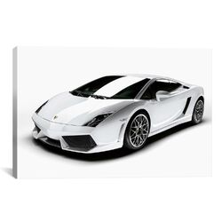 Cars and Motorcycles Lamborghini Gallardo LP 560-4 Photographic Print on Canvas