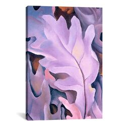 'Leaves' by Georgia O'Keeffe Painting Print on Canvas