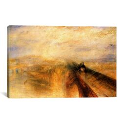 'Rain, Steam and Speed (The Great Western Railway) 1844' by Joseph William Turner Painting ...