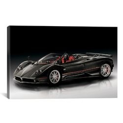 Cars and Motorcycles Pagani Zonda F Roadster Photographic Print on Canvas