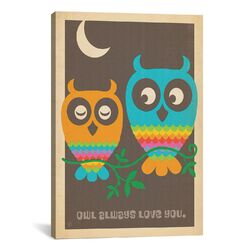 'Owl Always Love You' by Anderson Design Group Graphic Art on Canvas