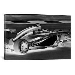 Modern Art Formula 1 Graphic Art on Canvas